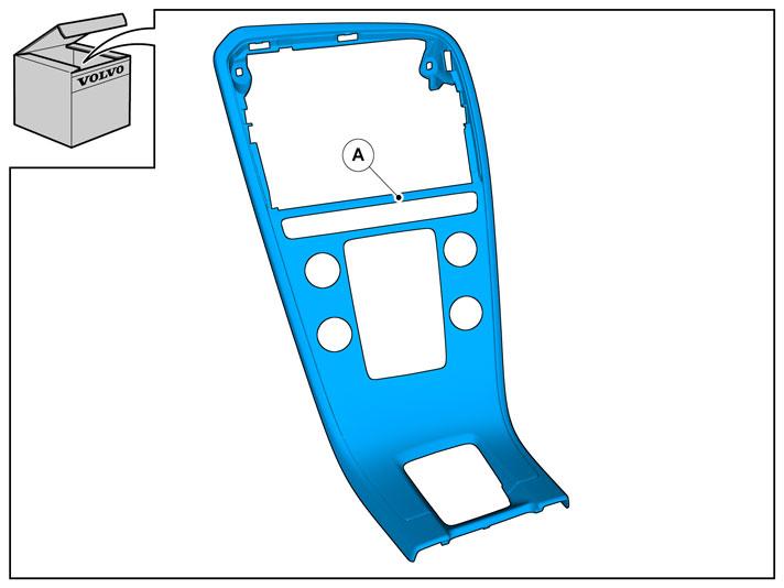 sierpaneel middenpaneel xc60 2014 accessoires volvo cars. Black Bedroom Furniture Sets. Home Design Ideas