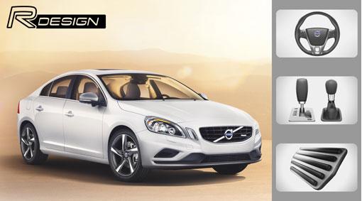 Accessory, R-design, general description, interior - S60 2011 ...